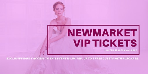 Opportunity Bridal VIP Early Access Newmarket Pop Up Wedding Dress Sale