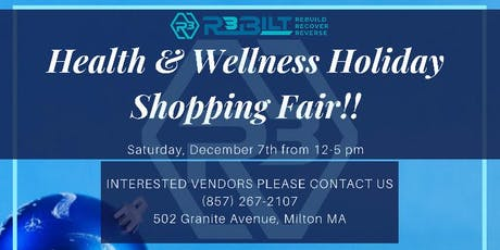 Holiday Shopping Wellness Event tickets