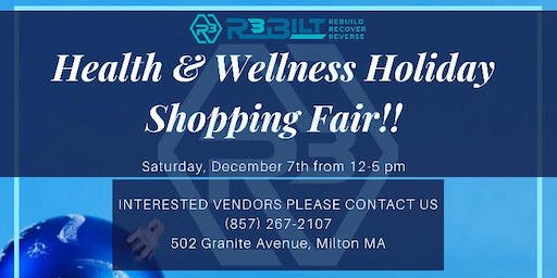 Holiday Shopping Wellness Event