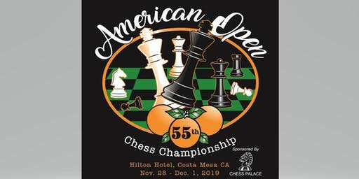 55th Annual American Open Chess Championship - Main Tournament