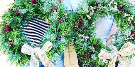 Fresh Christmas Wreath Making at Gosford tickets