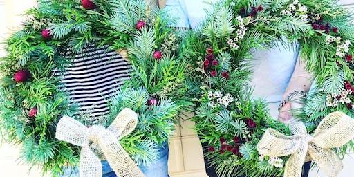 Fresh Christmas Wreath Making at Gosford