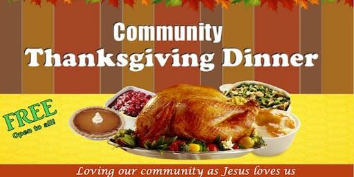 Community Thanksgiving Dinner 2019