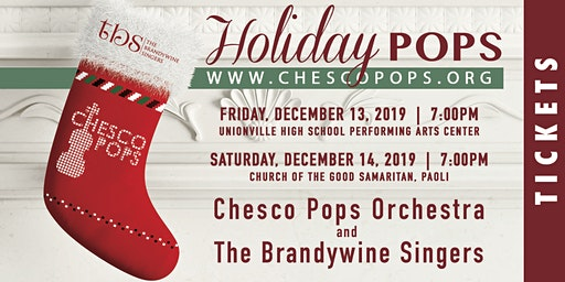 Holiday Pops Concert with Chesco Pops Orchestra and the Brandywine Singers