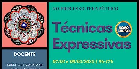 Técnicas Expressivas no Processo Terapêutico ingressos