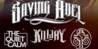Renegade Promotions Presents: SAVING ABEL | SEEKING SEVEN & MORE