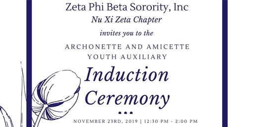 Youth Auxiliary Induction Ceremony