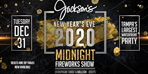 Jackson's Bistro New Year's Eve 2020 Celebration