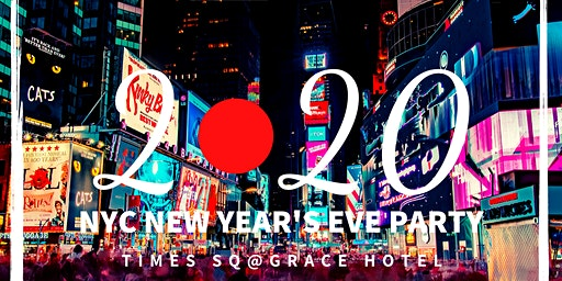 2020 NYC New Year's Eve Party in Times Square