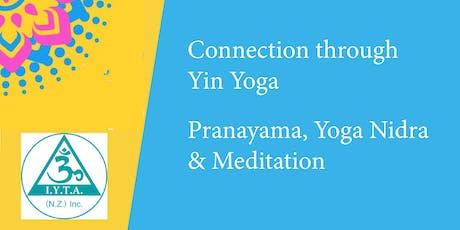 Yin Yoga by Debbie  - Pranayama, Yoga Nidra & Meditation by Prabhavananda tickets