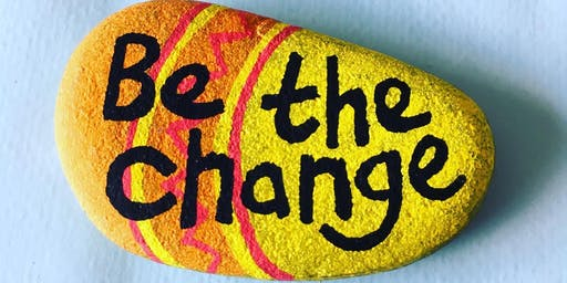 Positivity Pebbles for 16 Days of Action
