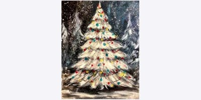 Christmas Painting Workshop at Loves Gallery!