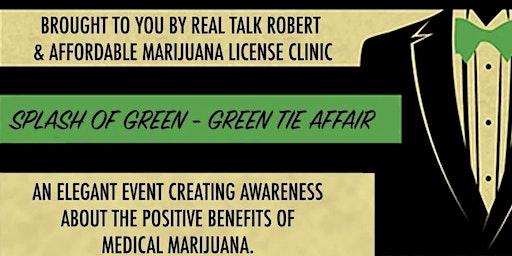 """Splash Of Green"" Green Tie Affair 2020"