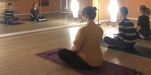 Yin Yoga at The Greater Denton Arts Council