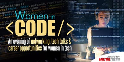 Women in Code - Presented by Women's Voices in Tech