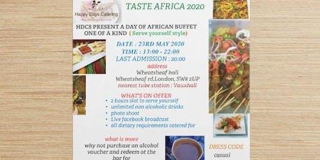 TASTE AFRICA 2020 tickets
