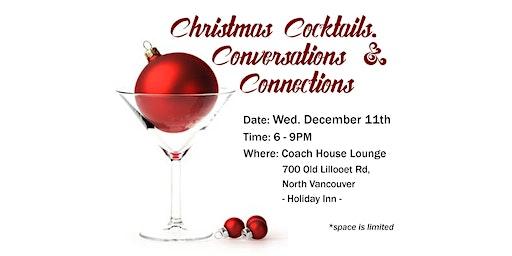 Christmas Cocktails, Conversations & Connections!