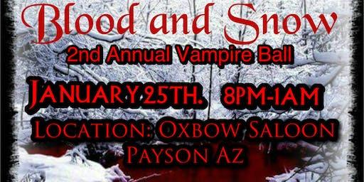Second Annual Blood & Snow Vampire Ball