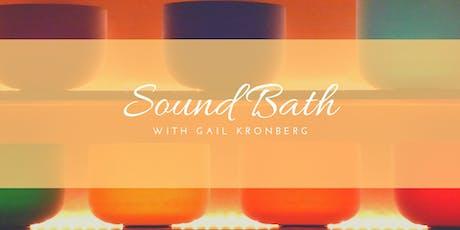 Singing Bowl & Gong Sound Bath tickets