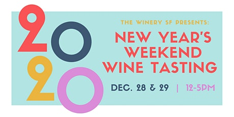 New Year's Weekend Wine Tasting: Glitter Galore! tickets