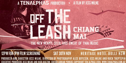 FILM SCREENING: Off the Leash in Chiang Mai - A Film by Jess Milne