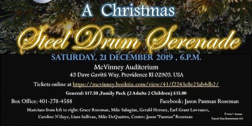 A Christmas Steel Drum Serenade