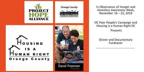 Alleviate Childhood Hunger & Homelessness in Orange County Fundraiser  tickets