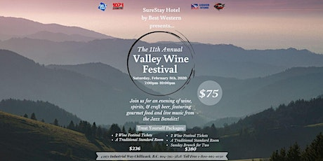 11th Annual Valley Wine Festival tickets