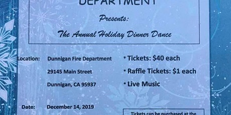 2019 Annual Holiday Dinner Dance tickets