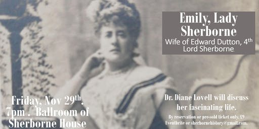 Life of Emily, Lady Sherborne - Jewish wife of Edward, 4th Lord Sherborne