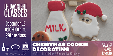 Christmas Cookie Decorating Class with The Pink Umbrella Bakery tickets