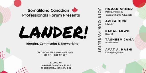 Lander!  Identity, Community and Networking