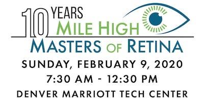 Mile High Masters of Retina 2020