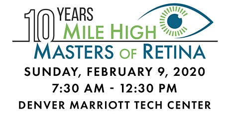 Mile High Masters of Retina 2020 tickets