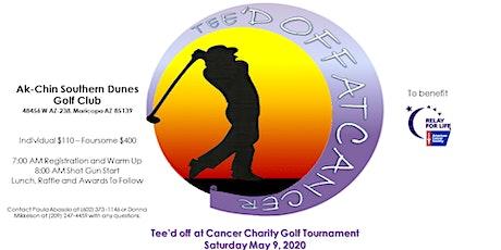Tee'd Off at Cancer Golf Tournament tickets