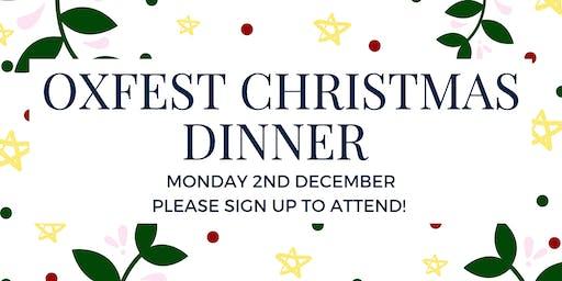OxFEST Christmas Dinner