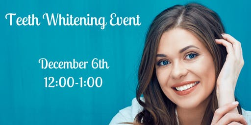 Holiday Teeth Whitening Event