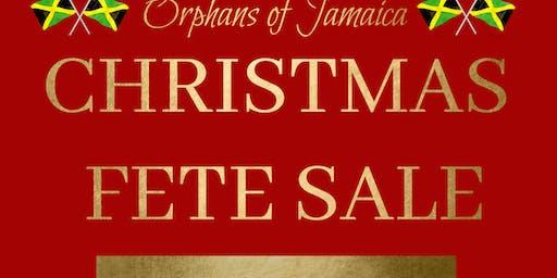 Orphans of Jamaica Christmas Fete Sale