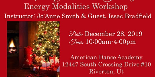 """""""Inspire Your Soul's Journey"""" Energy Modalities Workshop with Jo'Anne Smith & Guest,  Issac Bradfield"""