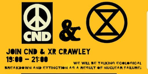 Public Talk:- Heading For Extinction  with CND & X