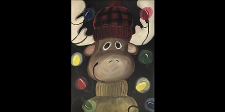 Holiday Moose...Paint'N Pajamas tickets