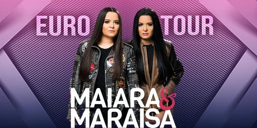 Maiara & Maraisa em Dublin