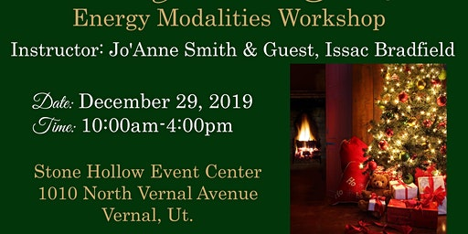 """Inspire Your Soul's Journey"" Energy Modalities Workshop with Jo'Anne Smith & Guest,  Issac Bradfield"