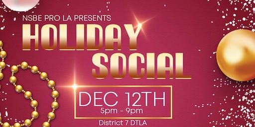 NSBE Pro LA: Holiday Social