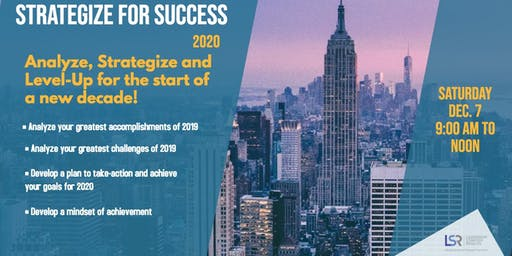 Strategize for Success in 2020