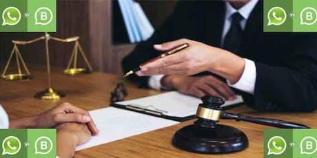 WhatsApp Marketing para abogados y mediadores. Inscripción obligatoria. entradas