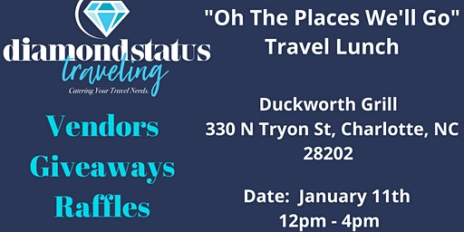"""""""Oh The Places We'll Go"""" Travel Luncheon"""