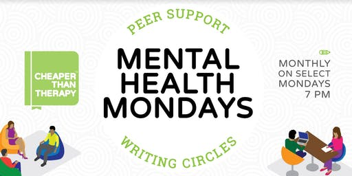 Mental Health Monday: Peer Support Writing Circle
