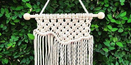 Macrame Workshop - Ornament and Wall Hanging