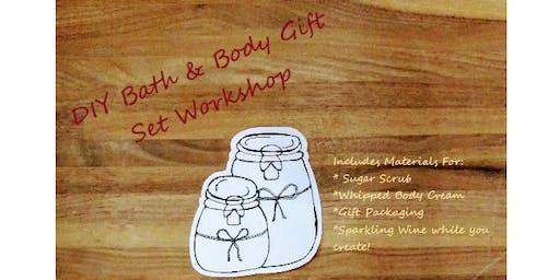 DIY Bath & Body Gift Set Workshop